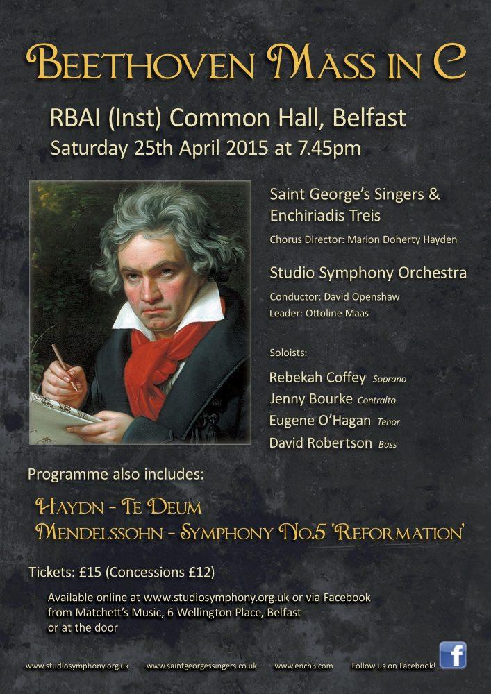 Beethoven Belfast Flyer
